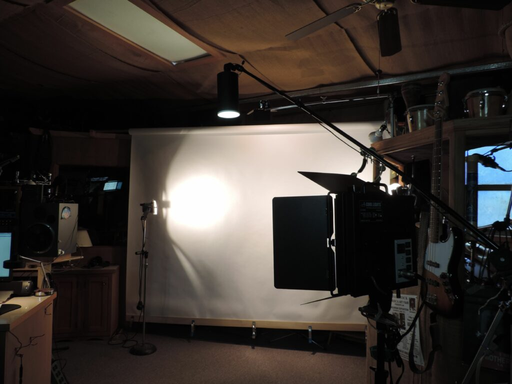 Photo of a photography studio.