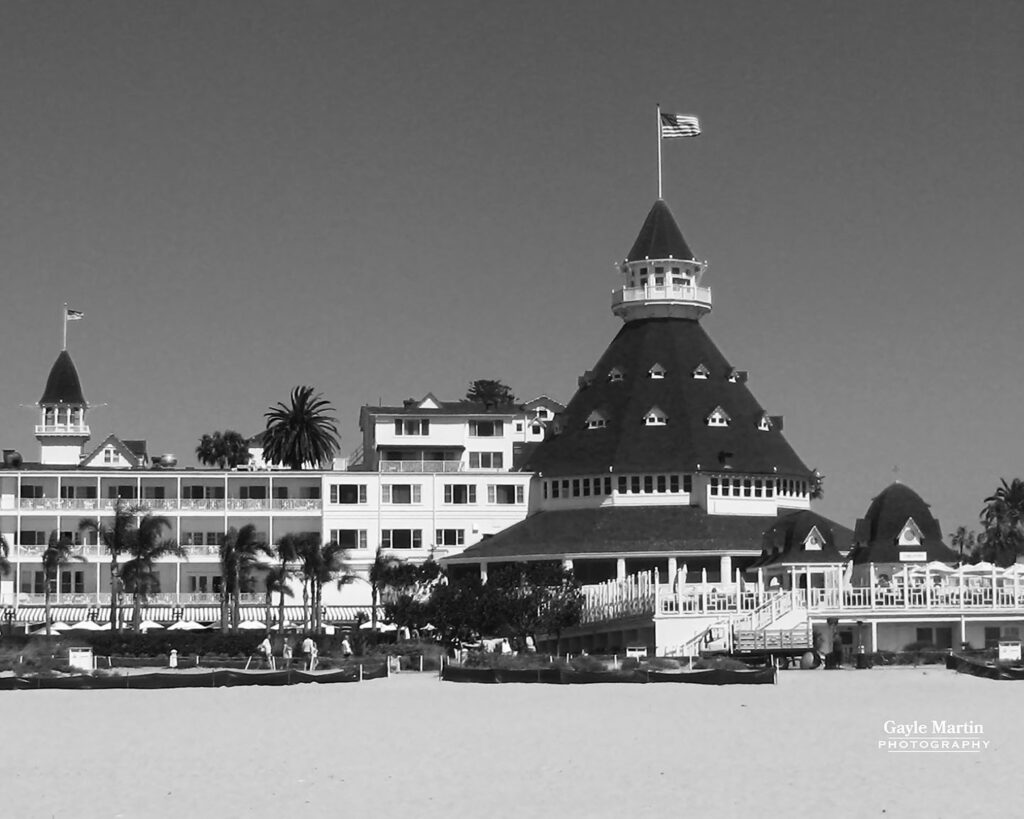 The Hotel del Coronado by Gayle Martin Photography copyright 2020 by Gayle Martin All Rights Reserved